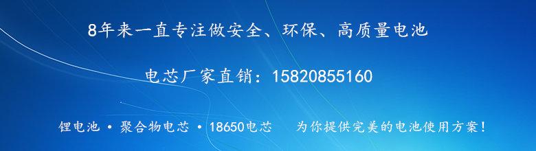 锂聚合物电池厂家电话
